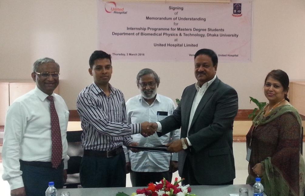 Dhaka University Masters Degree Biomedical Physics Students Can Do - Map of united hospital dhaka