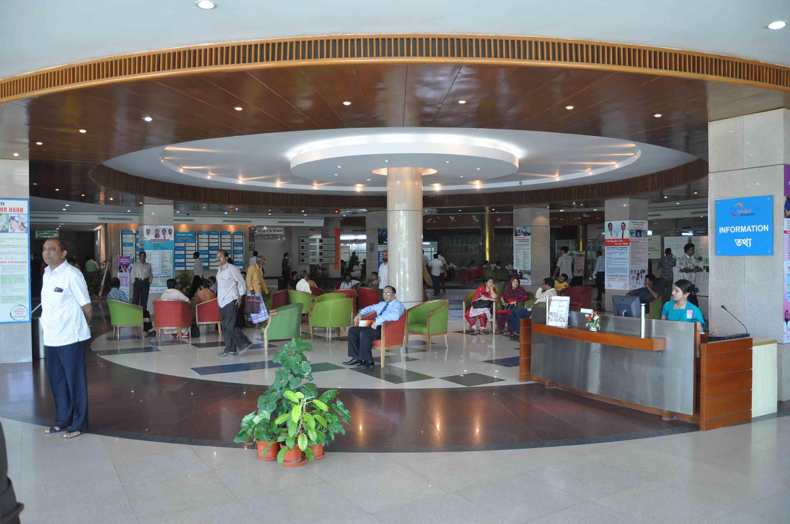 Photo Gallery United Hospital - Map of united hospital dhaka